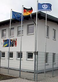 Die Unterkunft des THW in der Sebastianstraße 122 in Bad Neuenahr-Ahrweiler.